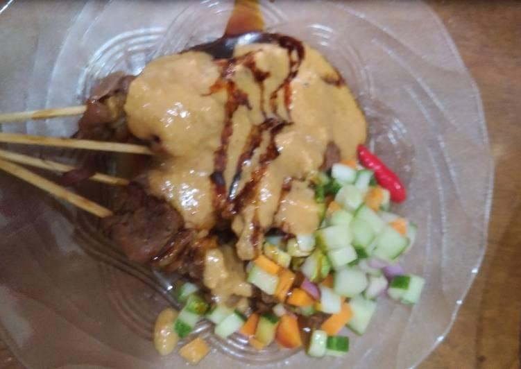 Resep: Sate Sapi Ekonomis #FestivalResepAsia #Indonesia #Daging sapi lezat