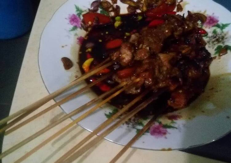 Sate sapi simple ala anak kosan