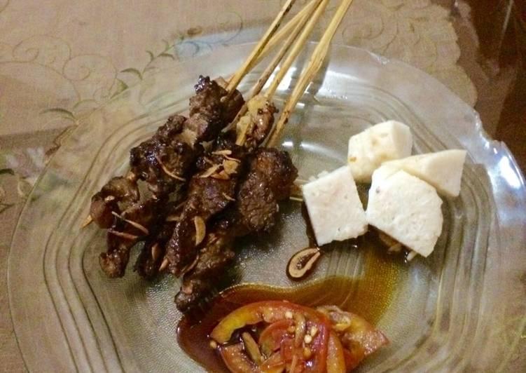 Resep: #KitaBerbagi sate sapi sambal kecap🍢 ala resto