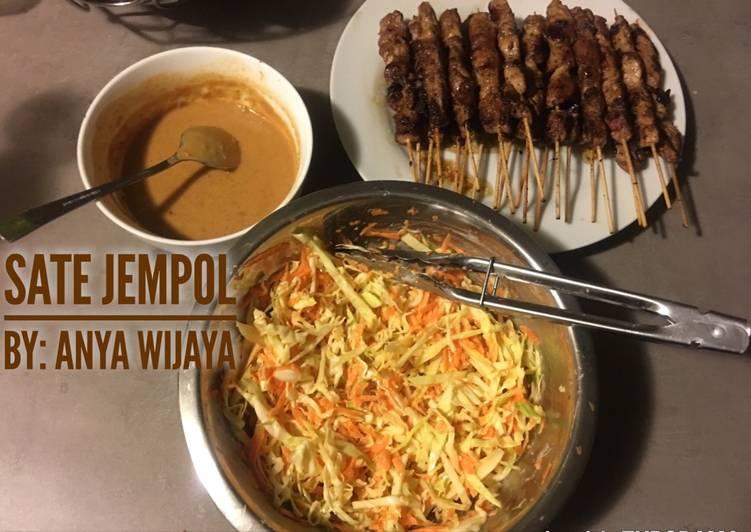 Resep: Sate sapi Jempol with salad istimewa
