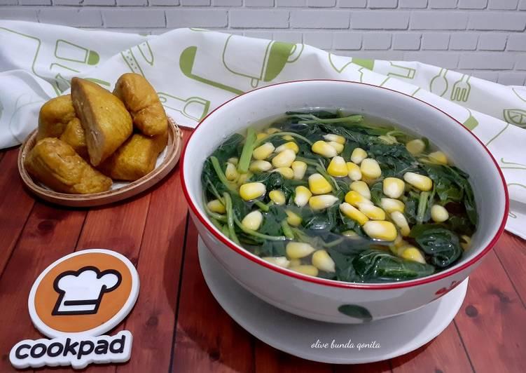 Resep memasak Sayur bening (tegean brambang kencur) lezat