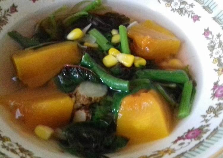 Cara Mudah membuat Sayur Bening Kencur / Tegean Kencur ala resto