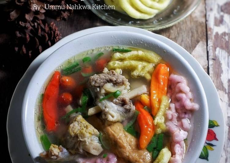 Cara Mudah memasak Mie So khas Pekalongan ala Ummu Nahkwa Kitchen istimewa