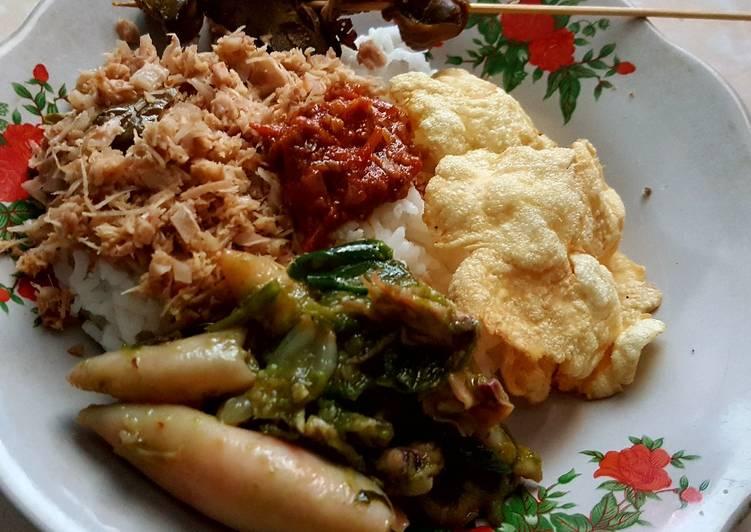 Cara Mudah memasak Nasi megono khas pekalongan lezat
