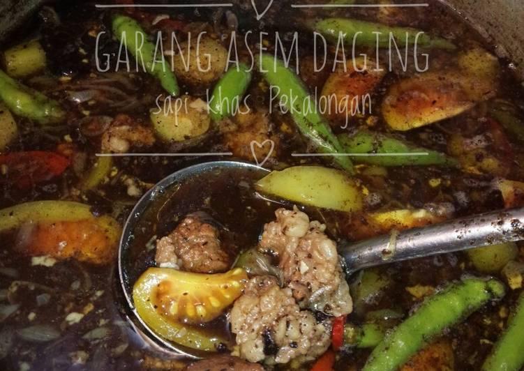 Cara memasak #day 29, Garang Asem Daging sapi khas Pekalongan yang menggugah selera