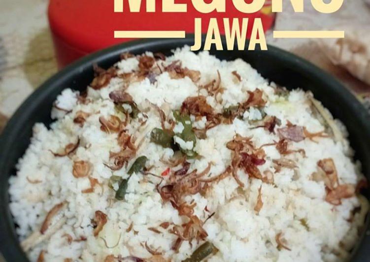 Cara memasak SEGO MEGONO JAWA ala resto