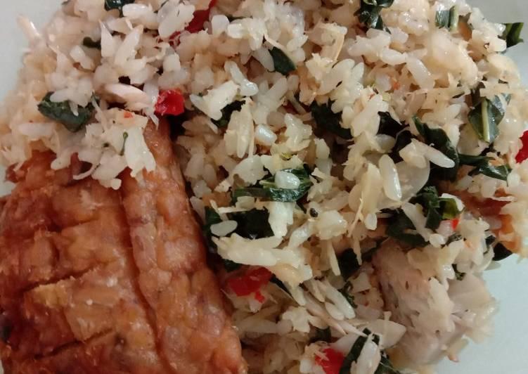 Cara Mudah memasak Sego megono yang bikin ketagihan