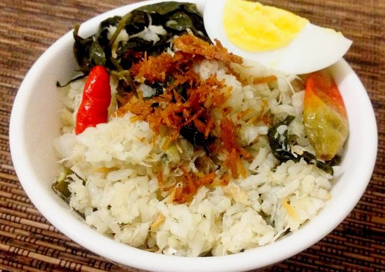 Cara mengolah Nasi Megono (Sego Megono) yang menggugah selera