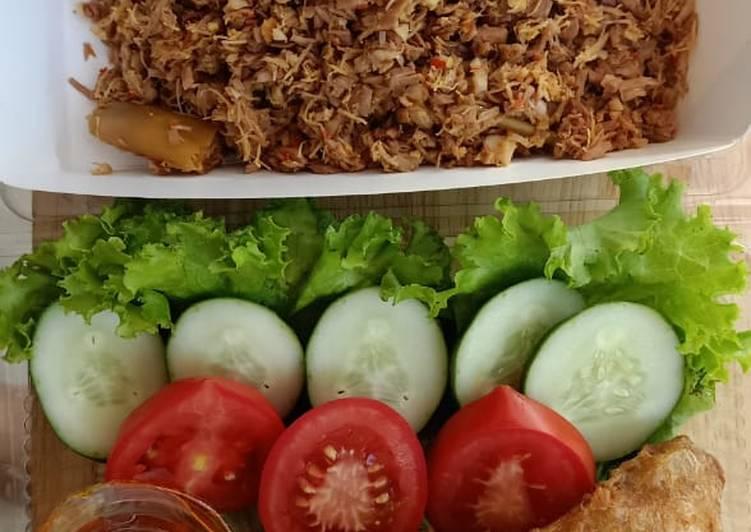 Resep: Ayam Serundeng khas Pekalongan
