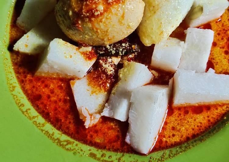 Resep: Lontong sayur sederhana ala resto