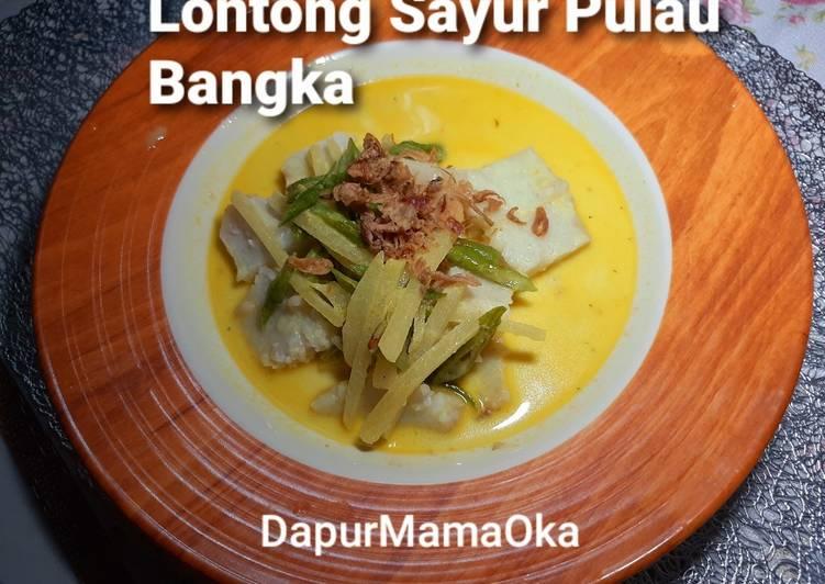 Resep: Lontong Sayur Pulau Bangka ala resto