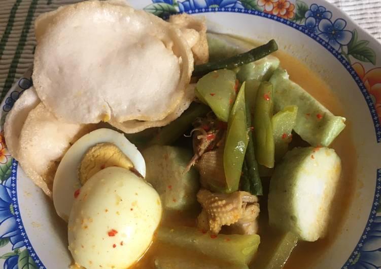 Resep: Lontong Sayur khas padang ala resto