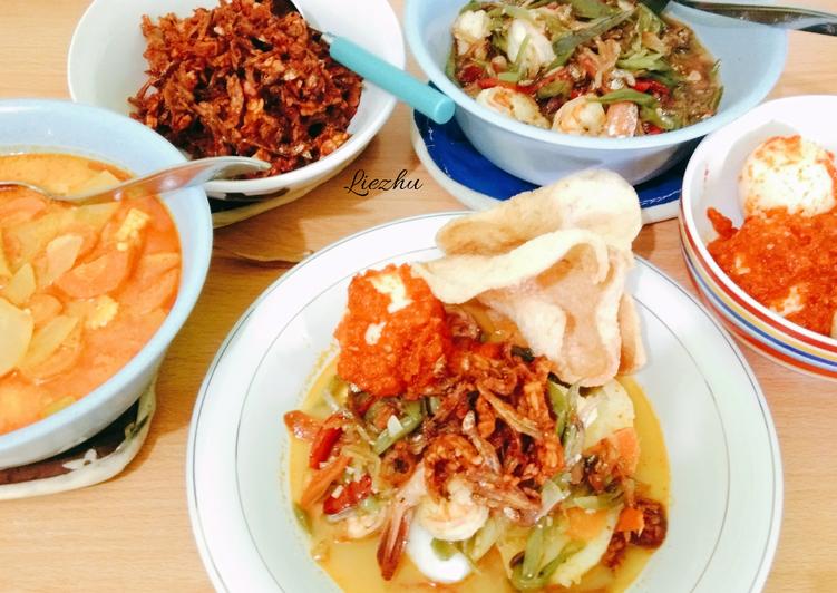 Resep: Lontong sayur Medan ala resto