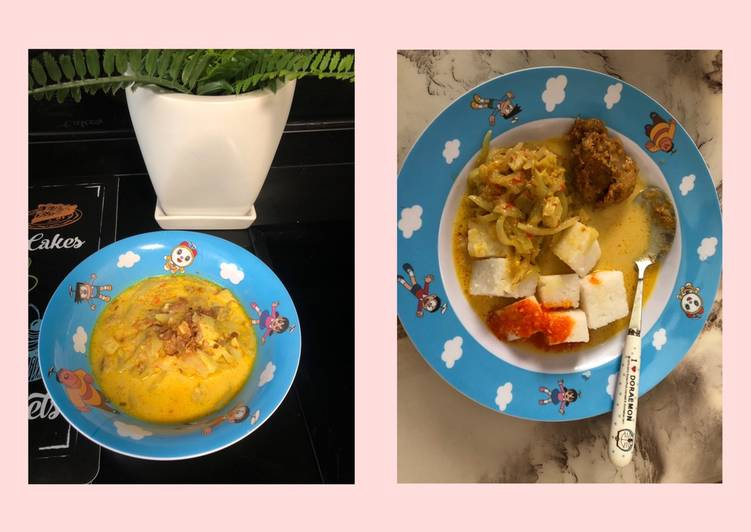 Resep: Lontong sayur labu lezat
