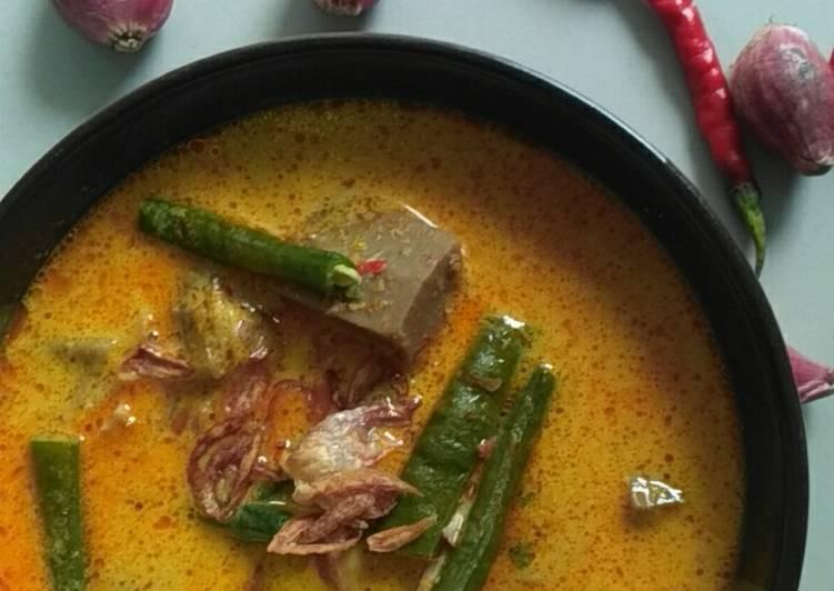 Resep memasak Lontong Sayur Padang yang bikin ketagihan