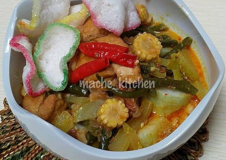 Lontong sayur Medan