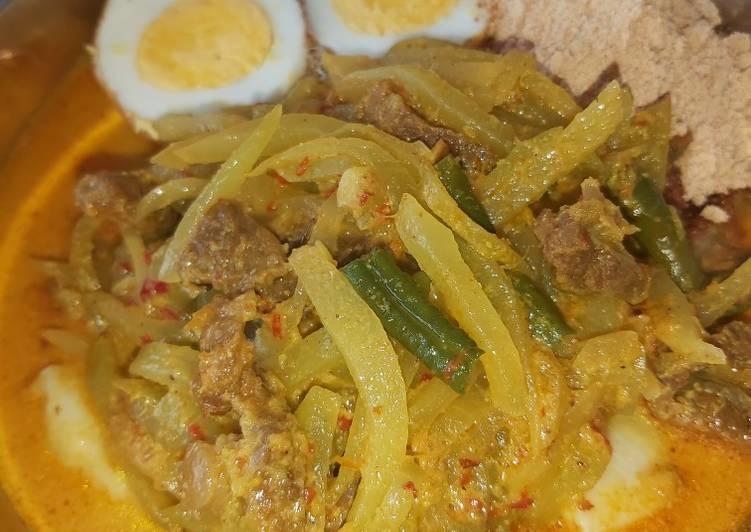 Resep memasak Lontong sayur (bs utk cap gomeh) yang menggugah selera
