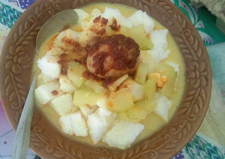 Resep: Lontong sayur pepaya