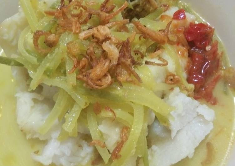 Resep: Lontong sayur lezat