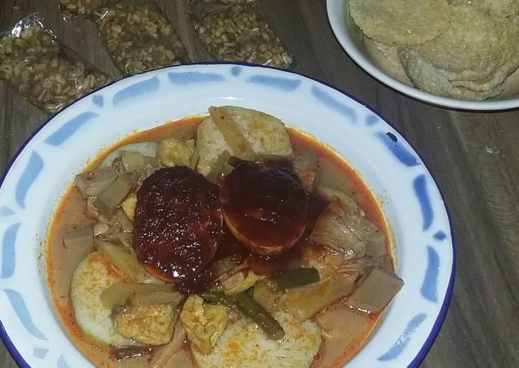 Resep: Lontong Sayur by chang_e yang bikin ketagihan