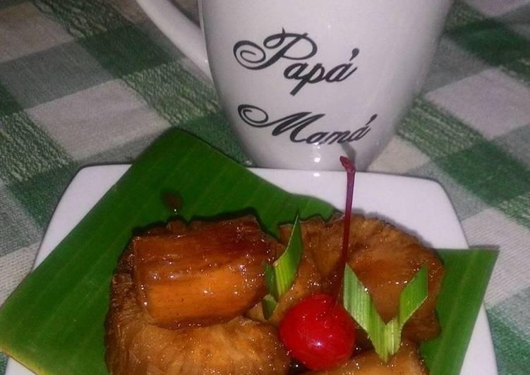 Resep: Singkong Kropok legit khas Jepara(recook bu Anita Jepara) yang bikin ketagihan