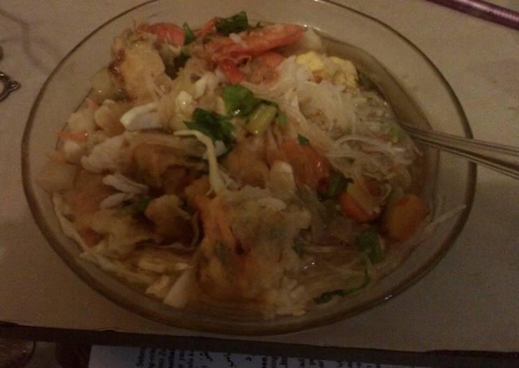 Resep memasak Sop udang khas jepara