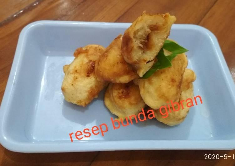 Resep: Glanggem Tape Singkong Isi Gula Jawa (aka Rondo Royal) ala resto
