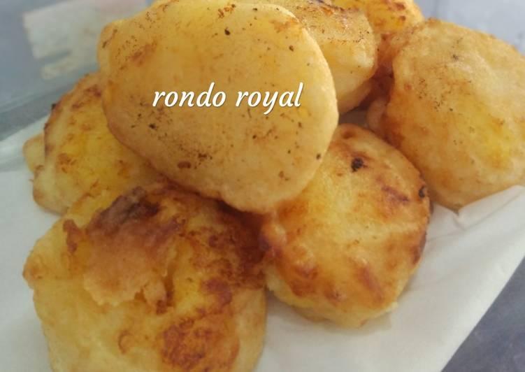 Resep: Rondo royal yang bikin ketagihan