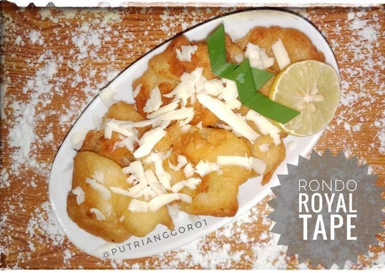 Resep membuat Rondo Royal Tape yang bikin ketagihan