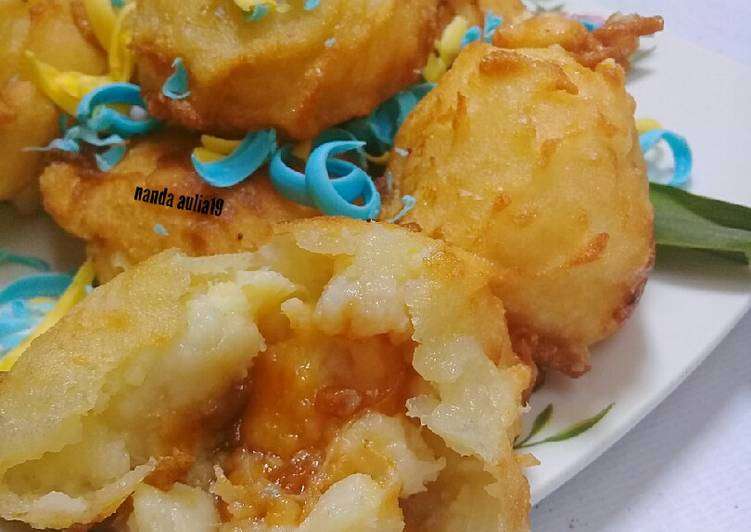 Resep: Tape goreng/Rondo Royal