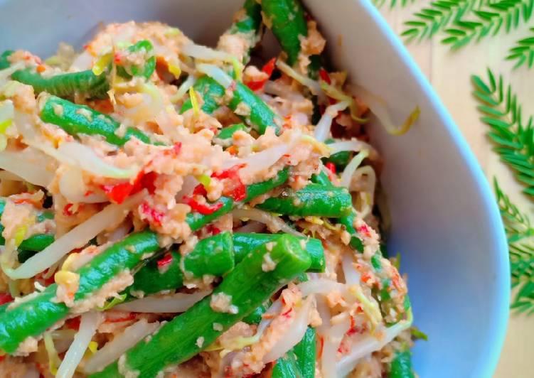 """Resep: Urap sayur """"kuluban) lezat"""