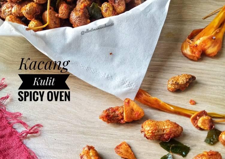 Resep membuat Kacang Kulit Spicy Oven ala resto