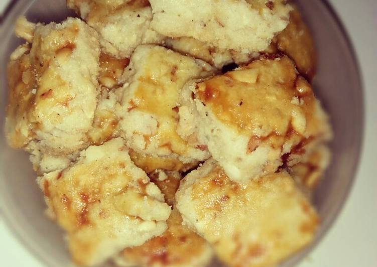 Cara memasak Kue Kacang no oven no mixer no ribet yang bikin ketagihan