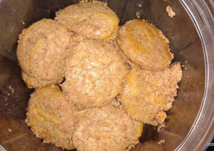 Resep: Kue kacang ala rumahan no oven enak