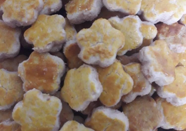 Resep: Kue kacang oven lezat