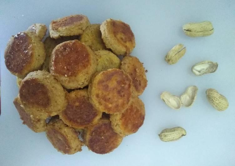 Cara Mudah mengolah Cookies Kacang tanpa oven istimewa