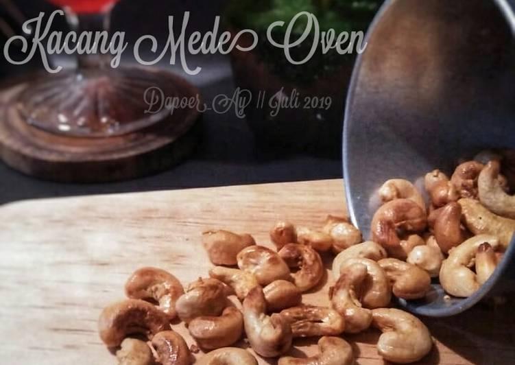 Resep memasak Kacang Mede Oven yang bikin ketagihan