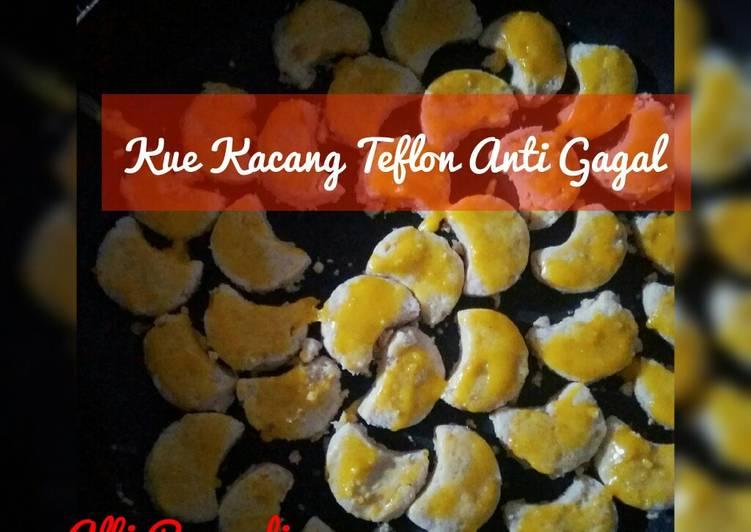 Resep: Kue Kacang oven anti gagal lezat