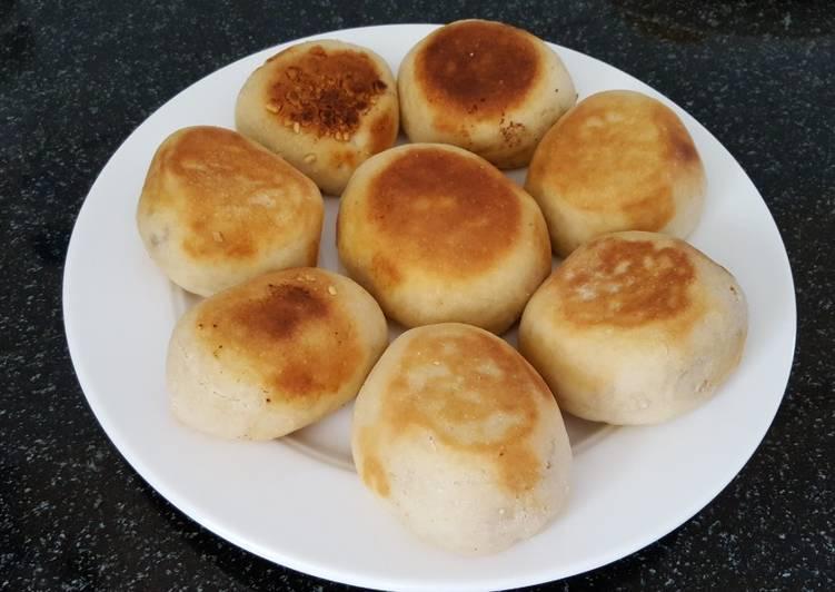 Cara Mudah memasak Roti kacang tanpa oven yang menggugah selera