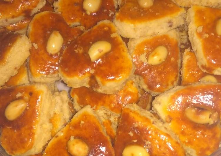 Resep: Kue Kacang tanpa Oven dan Anti gagal lezat