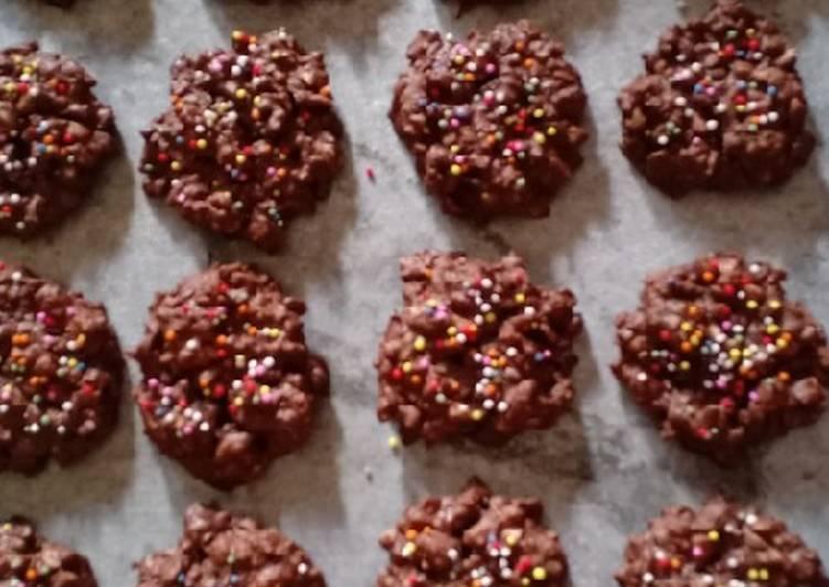 Resep membuat Kue coklat kacang (beng- beng) istimewa
