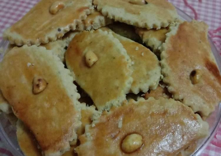 Resep: Cookies kacang yang menggugah selera