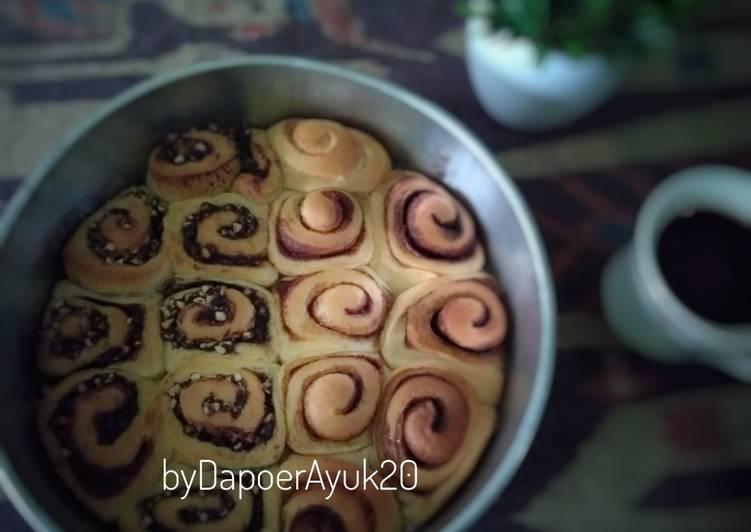 Resep: Cinnamon Roll & Coklat kacang Roll yang bikin ketagihan