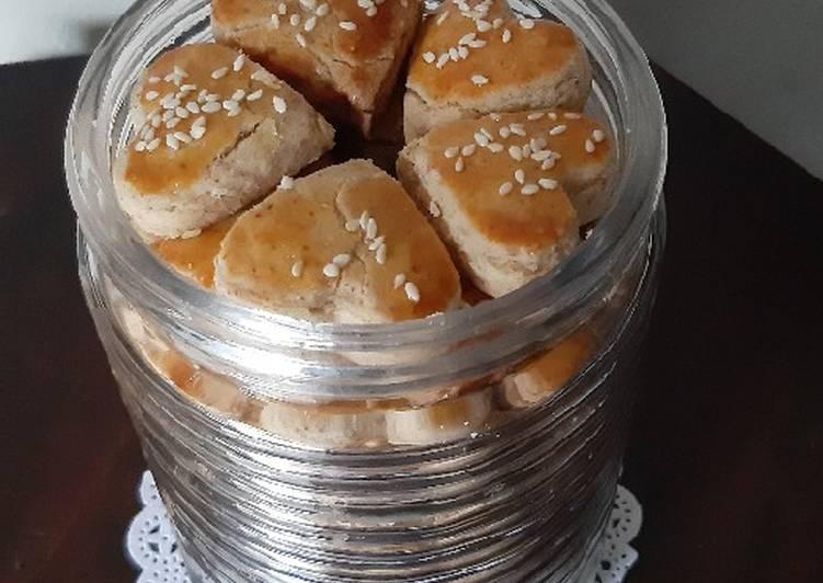 Resep: Peanut cookies (kue kacang jadul) yang menggugah selera