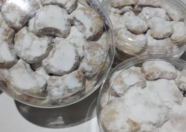 Cara Mudah mengolah Putri salju kacang tanah istimewa