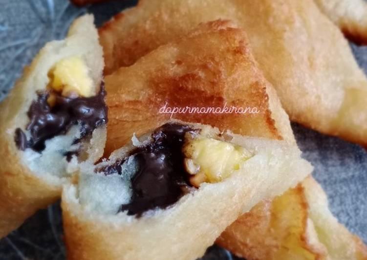 Resep: 31. Roti Goreng 3 Rasa (coklat,pisang,kacang) istimewa