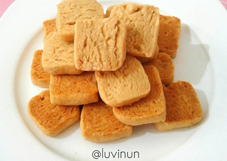 Resep mengolah Kuker Kacang Potong (takaran sendok) ala resto