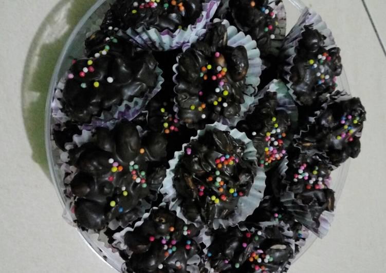Resep: Coklat kacang lezat