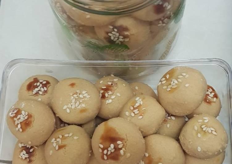 Cara membuat Cookies selai kacang lumer dimulut lezat