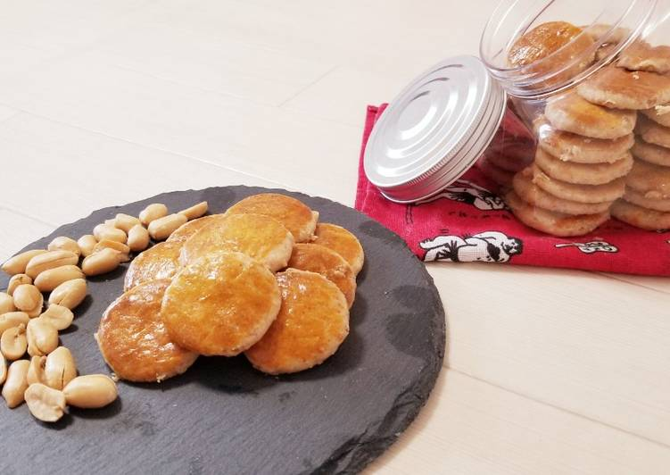 Resep: Resep kue kacang istimewa